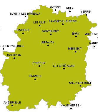 Liste Des Villes De La Communaute De Communes De L Essonne