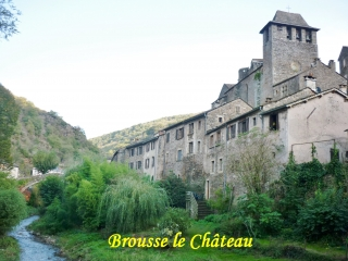 grands-causses - BROUSSE LE CHATEAU - ST CIRICE
