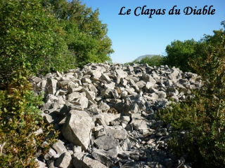 grands-causses - VERRIERES - LE CLAPAS DU DIABLE