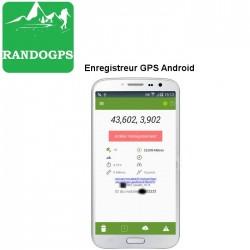 Enregistreur GPS pour Android
