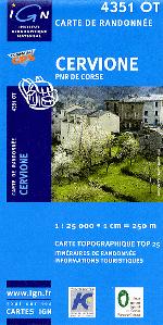 Vizzavona Cascade Des Anglais Carte Ign Et Topographique De La Trace Gps Pour Cette Randonnee