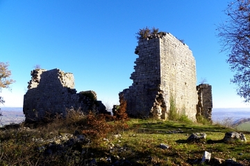 RUINES DE TAILLEFER-lot